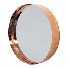 Living & Giving - Round Copper Metal Cake Tin Mirror Copper Colour Scheme, Copper Color, Copper Mirror, Copper Metal, Mirrors For Sale, Cake Tins, Round Cakes, Buying Wholesale, Diy Craft Projects