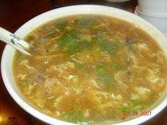 Cucina cinese: la zuppa agropiccante