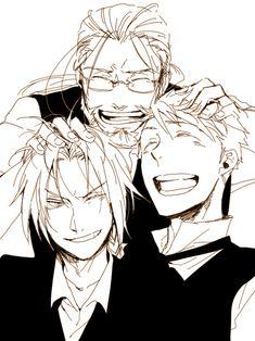 Hohenheim, Edward, and Alphonse