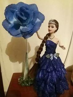 Lindíssima vestido de gala em eva