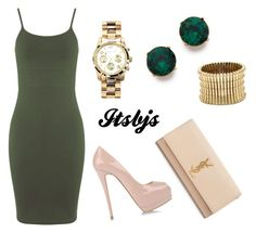 """""""Khaki/beige/sexy/gold"""" by itsbjs on Polyvore"""