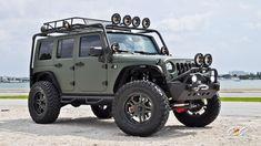 Dashing Modified Jeep Wrangler