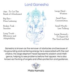 Pin Now, Read Later! The Spiritual meaning behind Lord ganesha. Tap to read the blog - Spiritual Yoga Symbols and What They Mean. Mala Kamala Mala Beads - Boho Malas, Mala Beads, Yoga Jewelry, Meditation Jewelry, Gemstone Jewelry, Chakra Healing and Crystal Healing Jewelry, Mala Necklaces and Bracelets, Mala Headpieces, Childrens Malas, Bohemian Jewelry and Baby Necklaces