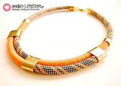 My handmade necklace!!