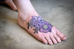 Poisonous flower cover-up by Alice Kendall.  Datura, Hellebore, deadly nightshade.