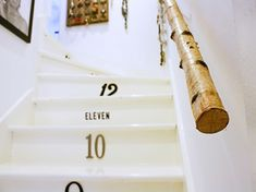 Treppen Handlauf Aus Birkenstamm   Interessante Idee Handlauf Treppe,  Treppenstufen, Dachboden, Birkenstamm Deko