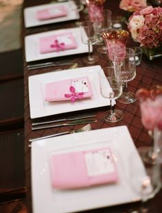 Pink and Brown Vineyard Wedding - Reception,  Decor