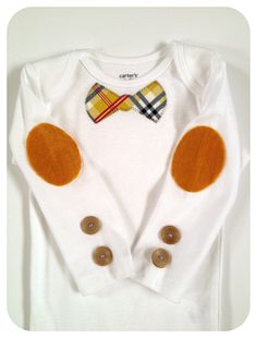 09d68659957e9 Dapper little man bow tie shirt. Baby boy Easter outfit. Baby boy bow tie