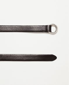 Image 1 of BELT WITH DOUBLE RING BUCKLE from Zara