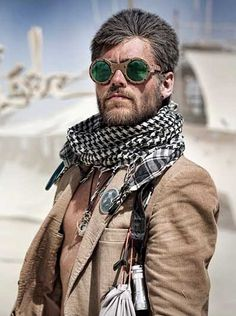 When I go to Burning Man I'm just wearing my normal clothes. I'll fit right in.                                                                                                                                                      More