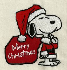 Photo of Snoopy Christmas 041 - Machine Embroidery Design