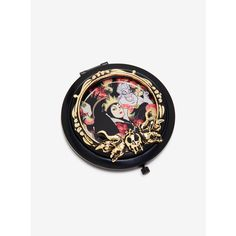 Disney Villains Compact Mirror ($11) ❤ liked on Polyvore featuring beauty products and beauty accessories