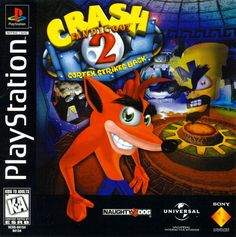 """CRASH BANDICOOT 2"" (PS1) ♣ Descargar: http://www.mediafire.com/download/j1bgnfitfl6yv06/Crash+Bandicoot+2.zip 