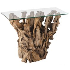 Driftwood Console Table.