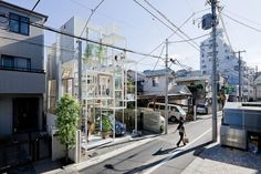 You may remember Sou Fujimoto Architects radical House NA from this video we shared with you last November. Designed for a young couple in a quiet Tokyo
