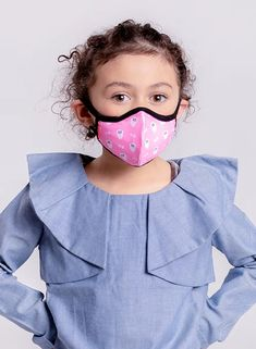 Our Kids Mask filters our of harmful airborne bacteria, removing most flu pathogens. Homemade Mask, How To Make Homemade, Allergic Rhinitis, Flu Prevention, Flu Mask, Face Masks For Kids, Protective Mask, Special Needs Kids, Mask Design