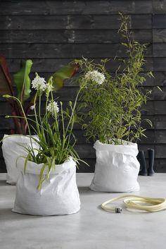 10 Tolle und kreative Ideen um Pflanzenkübeln selber zu machen - DIY Bastelideen