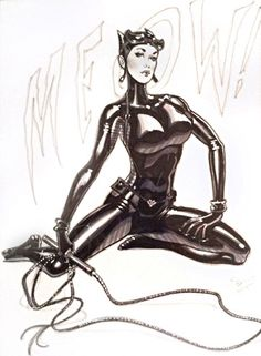 Catwoman by Michael Dooney