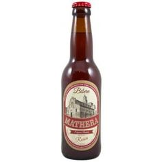 Birra artigianale Rossa American red Ale Mathera Beer Bottle, Ale, American, Drinks, Food, Drinking, Beverages, Ale Beer, Essen