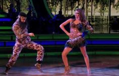 On Monday night's Dancing with the Stars, more members of the Duck Dynasty family were involved in Sadie Robertson's performance. Prior to breaking out in dance to a duck hunting inspired samba, Sadie's dance partner Mark Ballas, camoflauged in duck hunting gear, was in a duck blind type area along with Sadie's dad Willie and…