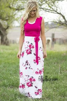 Stop and Stare Floral Maxi