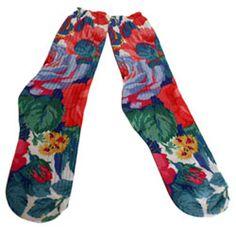 Peasant Flower Socks