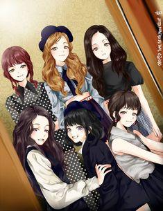 Time For The Moon Night photo teaser (Moon Vers. Friend Cartoon, Friend Anime, G Friend, Girl Group Pictures, Bff Pictures, Cartoon Pics, Girl Cartoon, Kpop Girl Groups, Kpop Girls
