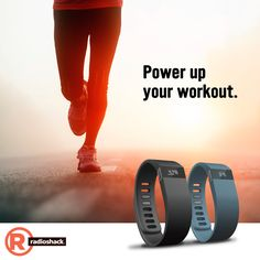 Get a running start on that New Year's resolution with the Fitbit Force from RadioShack.