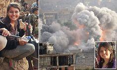 The women warriors who are terrifying the jihadis in Kobane Isaiah 6 8, New Roman, Freedom Of Speech, Freedom Fighters, Jesus Saves, Christians, Revolutionaries, How Beautiful, Romans
