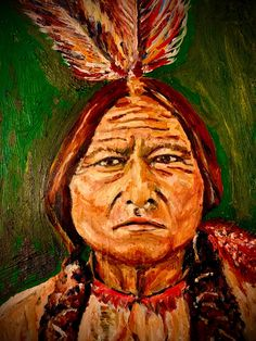 Excited to share this item from my #etsy shop: Sitting Bull Canvas Print #sittingbullcanvas Wall Art Prints, Canvas Prints, Sitting Bull, Decoupage Art, Art Market, Metal Art, Native American Warrior, Cute Paintings, Paper Light