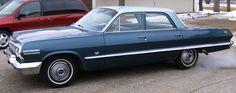 1963 chevy impala 4dr | 1963 Chevy Impala 4Dr Sedan