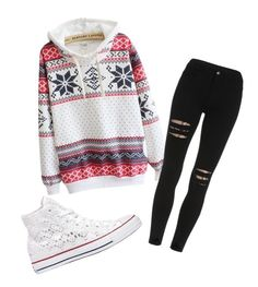 """""""Untitled #168"""" by amna107 ❤ liked on Polyvore featuring Converse"""
