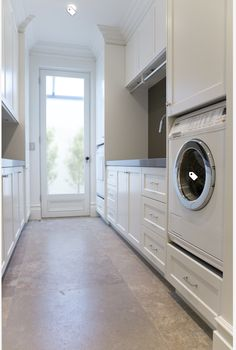 Laundry room with wine storage - traditional - Laundry Room - Sydney - Dan Kitchens Australia ideas ideas australia ideas ikea Mudroom Laundry Room, Laundry Room Cabinets, Small Laundry Rooms, Laundry In Bathroom, Laundry Cupboard, Estilo Shaker, Küchen Design, House Design, Design Ideas