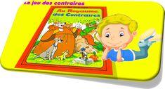 Le jeu des contraires, vocabulaire, grammaire, primaire