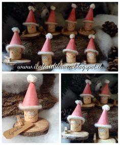 icoloridilaura: Gnometti segnaposto per il pranzo di Natale
