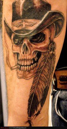 Native American Warrior Tattoos | Tatto design of Indian Tattoos - TattooDesignsIdeas.in