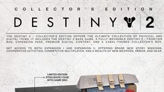 Here's what comes with Destiny 2's Collector's and Limited Edition