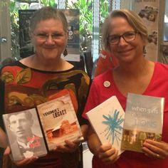 Local authors unite! Library fun with @dalelornajacobsen! #noosalibrary #novelsarefun #queensland #sunshinecoastlibrary #writerslife
