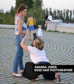 Nose Hair Photographer - Funny Pics Memes Random Humor