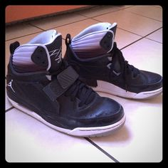 buy popular e968f 72773 High Top Jordan s Excellent condition. Black with ombre style high top. Jordan  Shoes Sneakers