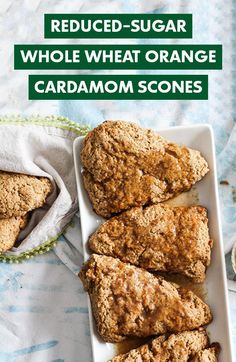 Mix, make, bake, devour. This reduced-sugar recipe from registered dietitian @GratefulGrazer is worth sharing: Scones, Diabetic Recipes, Cooking Recipes, Brunch, No Sugar Foods, Registered Dietitian, Baked Goods, Breakfast Recipes, Favorite Recipes