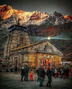 KēdārnāthMandir(Kedarnath Temple) is a Hindutemple(shrine) dedicated to Lord Shiva. Pandavas were supposed to ha. Temple India, Indian Temple, Hindu Temple, Rudra Shiva, Mahakal Shiva, Aghori Shiva, Shiva Art, Hindu Art, Om Namah Shivaya