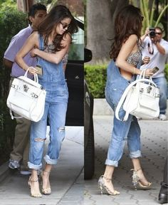 How to Chic: SELENA GOMEZ - OVERALLS