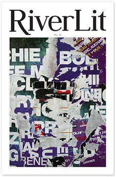 Christian Gastaldi.  Cover of RiverLit n°10  American Art and Littérature magazine
