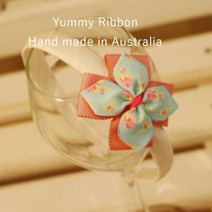 100% Handmade Hairbands / Headbands  	Bow size: 6.5cm*6.5cm (Approx.)  	PVC band wrapped with grosgrain ribbon
