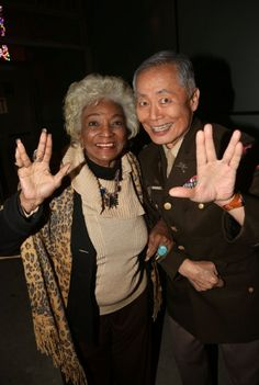 George Takei – Happy birthday to my radiant friend, Nichelle Nichols! May she live long and prosper. Star Trek Posters, Nichelle Nichols, Star Trek Cast, Star Trek Images, Star Trek Characters, Star Trek Original Series, Star Wars, Star Trek Ships, Star Trek Universe