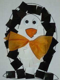 Maro's kindergarten: Penguin craft   #wintercrafts #penguincrafts #polaranimalscrafts