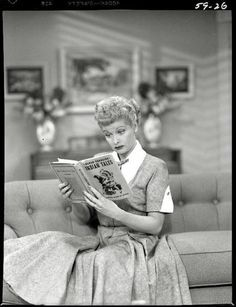 """I Love Lucy. What can anyone say, if you grew up watching her.  You did, """"Love Lucy.""""  She left us too young!"""