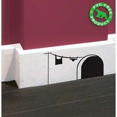Funny Wall Decals: The Mouse House - Photo