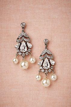 Sparkling Pearls Earrings.